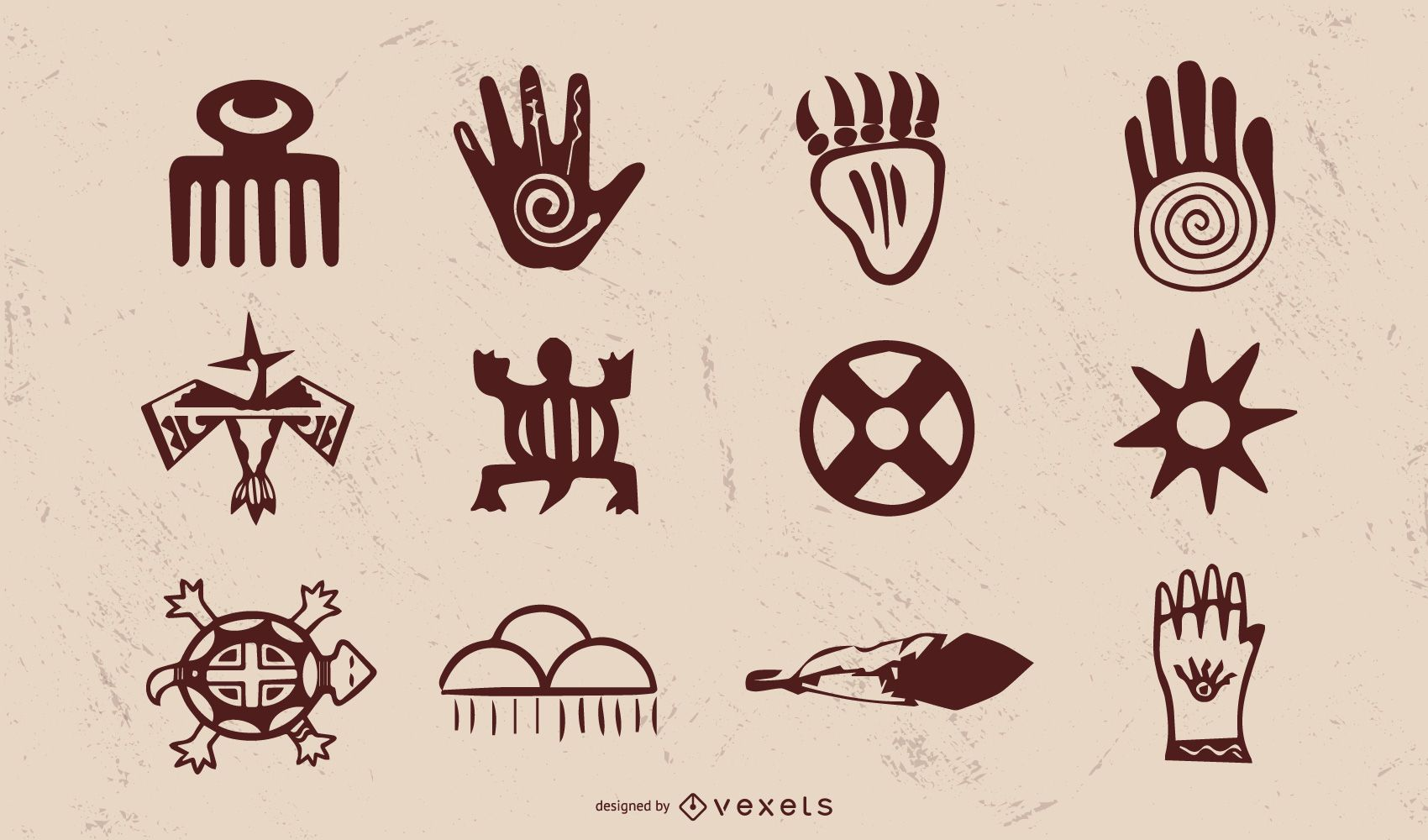 Vintage Native American Object Pack