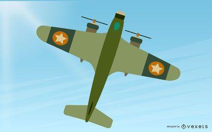 Vector de avión BF-109