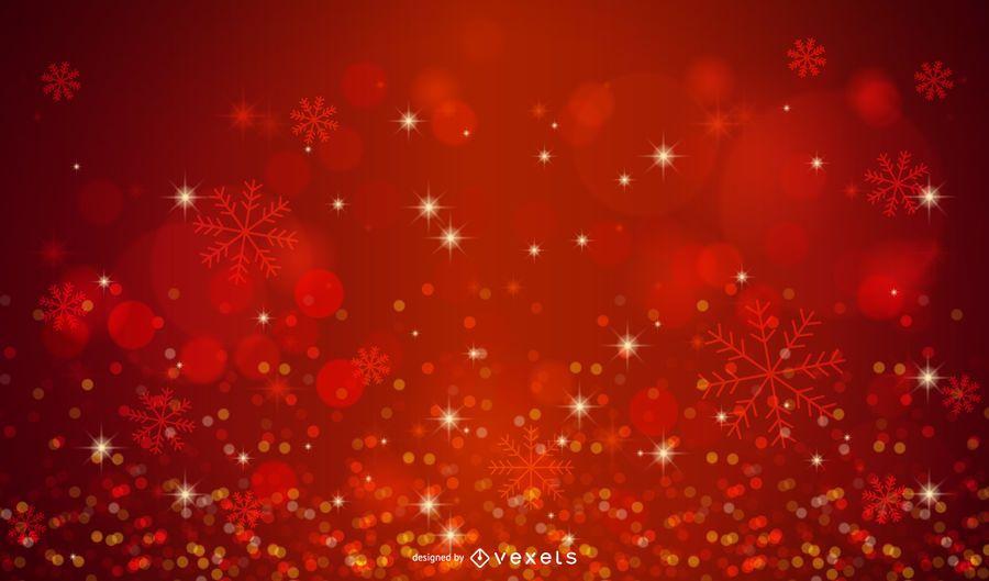 Shiny Wool Background with Xmas Light