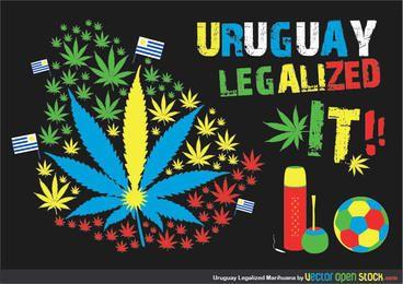 Marihuana legalizada de Uruaguay