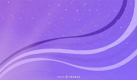Fondo púrpura brillante con sombra de la luz del sol