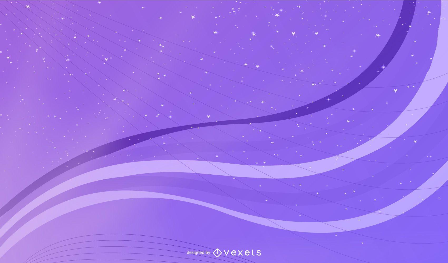 Glittery Purple Background with Sunlight Shade