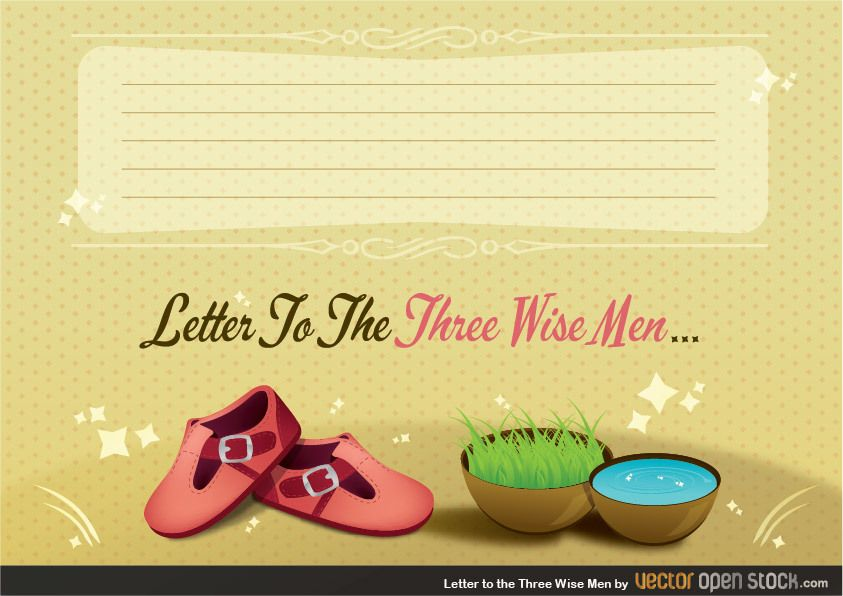 Letter to the Three Wise Men