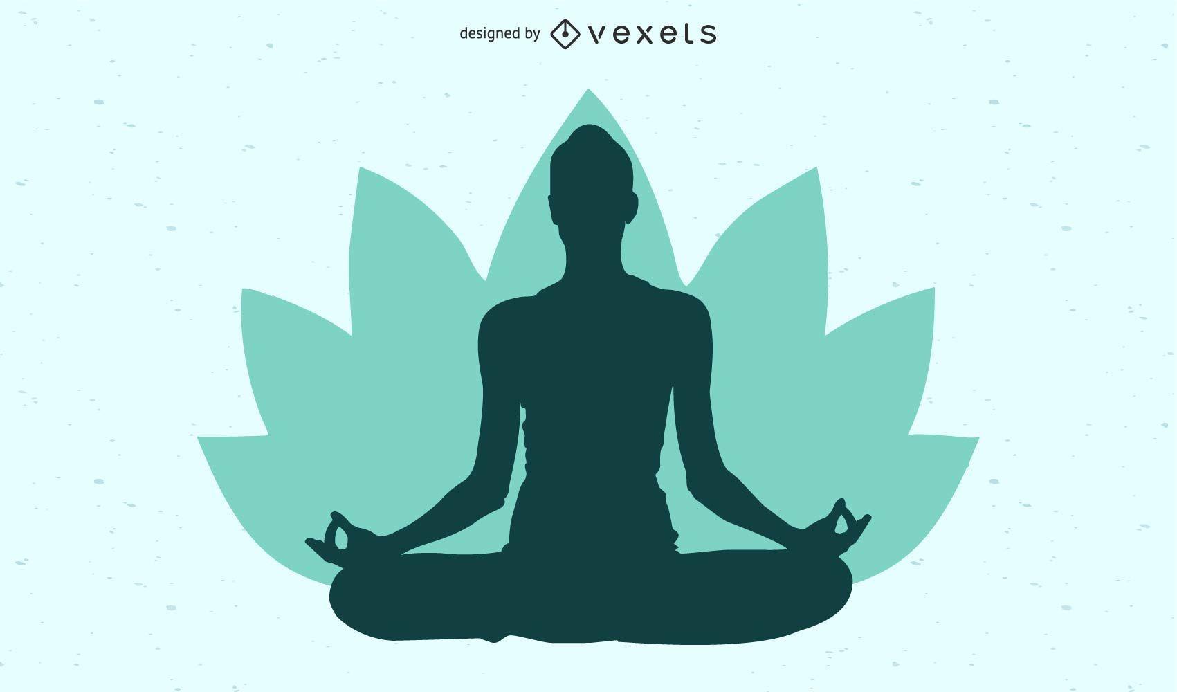 Women Cartoon Yoga Pose Vector Download