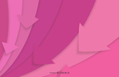 Fondo multicolor abstracto de la flecha de rayas