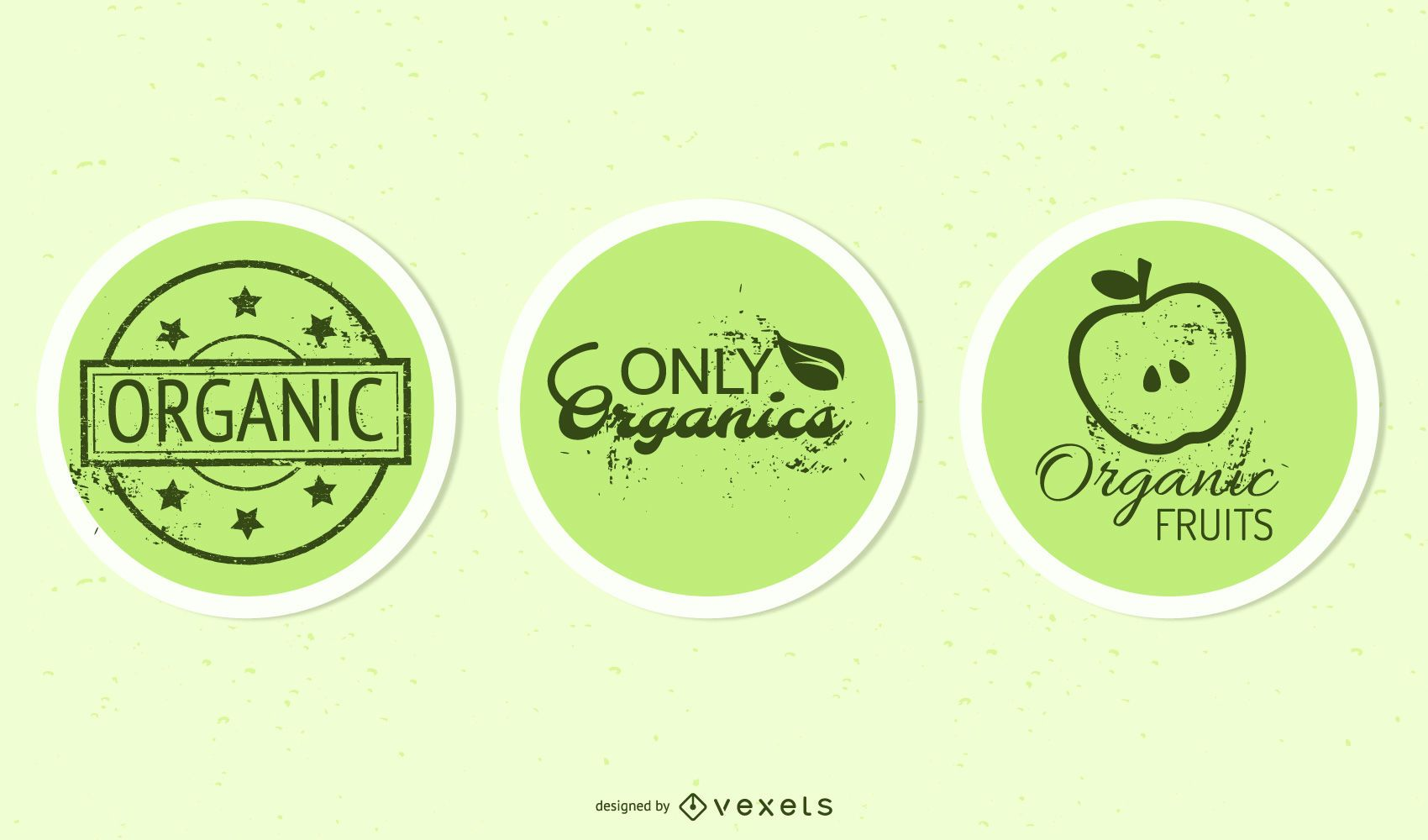Organic Elliptical Product Sticker Pack