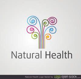 Redemoinhos coloridos da saúde natural