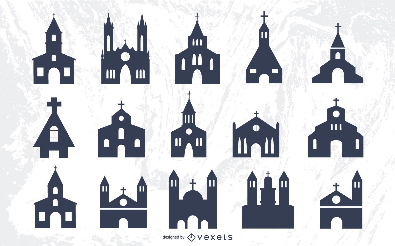 Silhouette Religion Architect of Churches