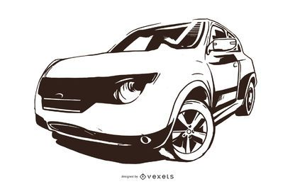 Vector de Ford Explorer