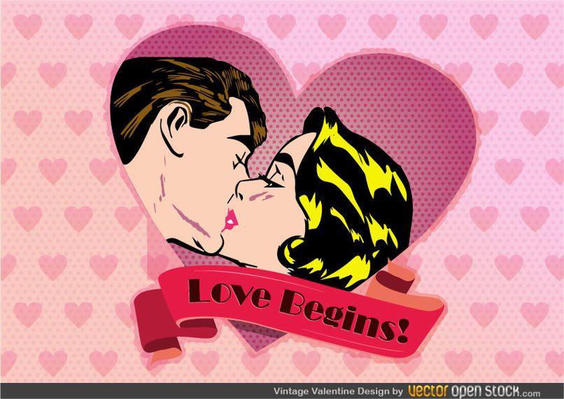 Jahrgang Valentine Design