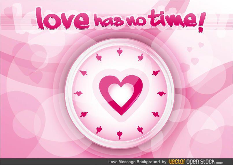 Fundo de mensagem de amor