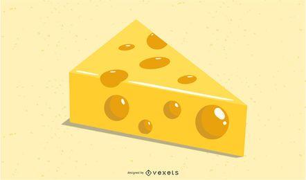 Vector de queso suizo
