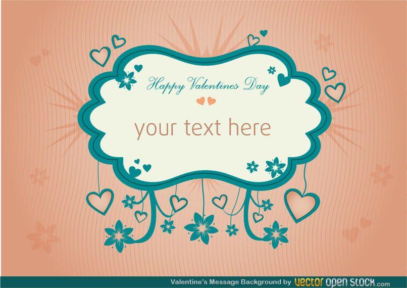 Antecedentes del mensaje de San Valentín