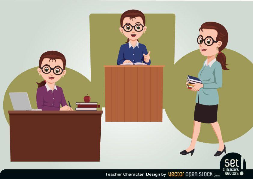 Teacher Character Set