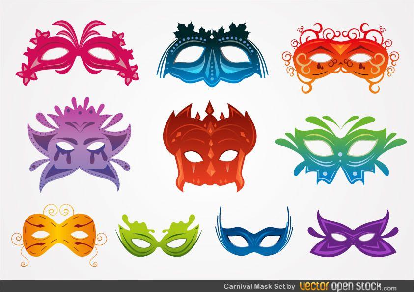 Carnival Mask Set