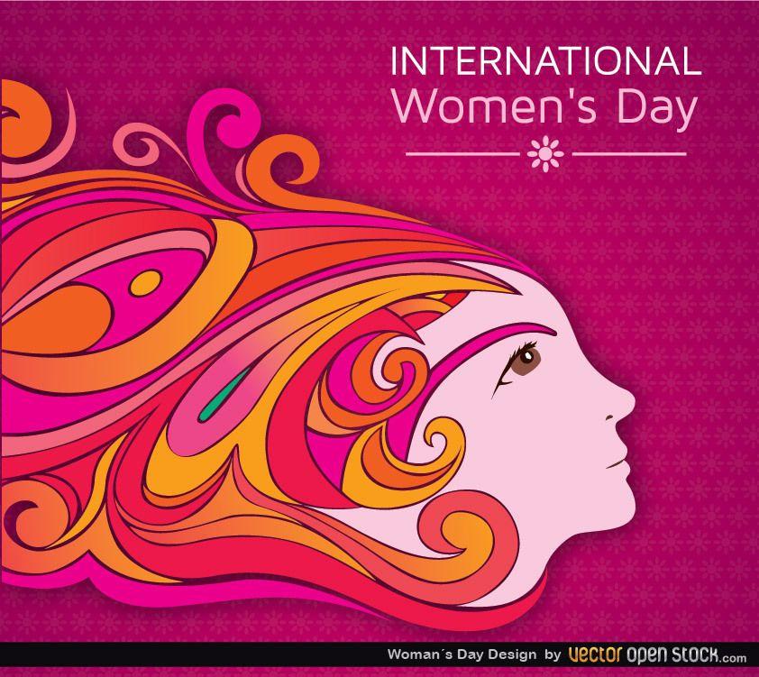 Diseño del día de la mujer