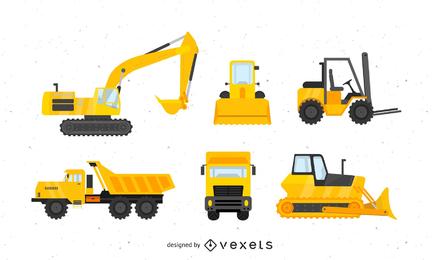 Pacote de veículos para máquinas pesadas