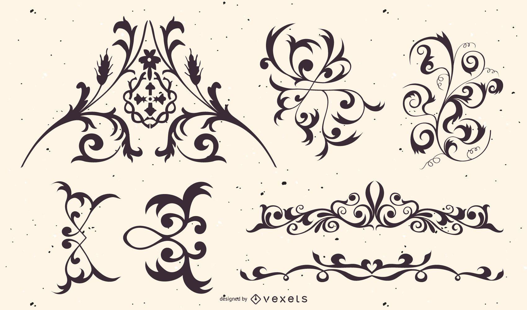 Creative Ornament and Design Elements