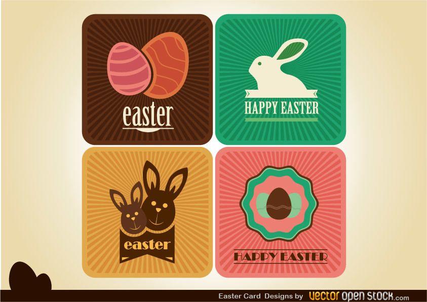 Diseños De Tarjetas De Pascua