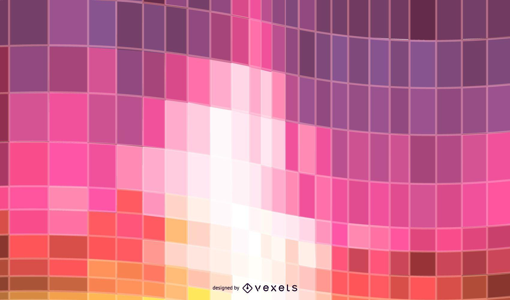 Wavy Tiles Background