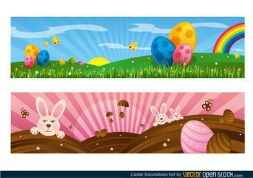 Ostern Dekoration Set