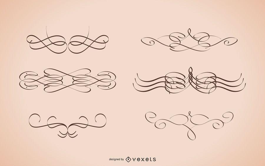 Calligraphic Strokes Designs