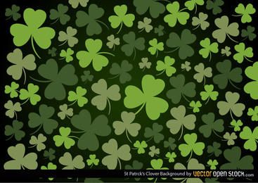 Background trevo de St Patrick