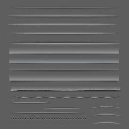 Pacote de elementos do divisor ou barra