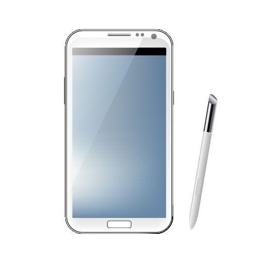 Samsung Galaxy Note2 y lápiz táctil
