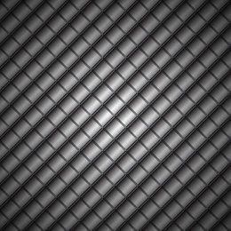 Dunkler geometrischer Metallhintergrund