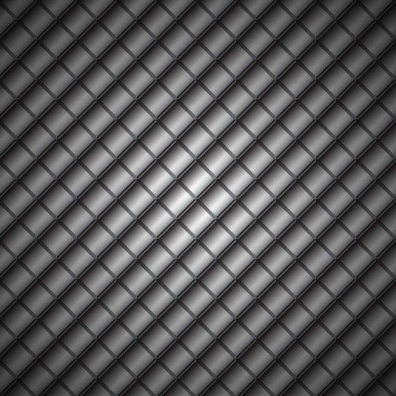 Fondo de metal geométrico oscuro