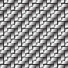 Fundo metálico prateado abstrato