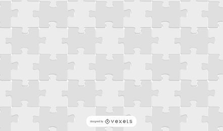 White Jigsaw Puzzle Pattern