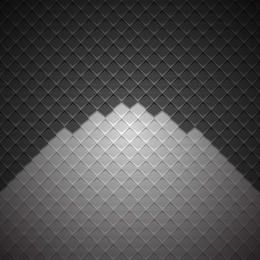 Geometric Cubic Darkish Checker Background