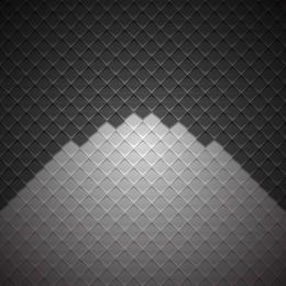 Geometrischer kubischer Darkish Checker-Hintergrund