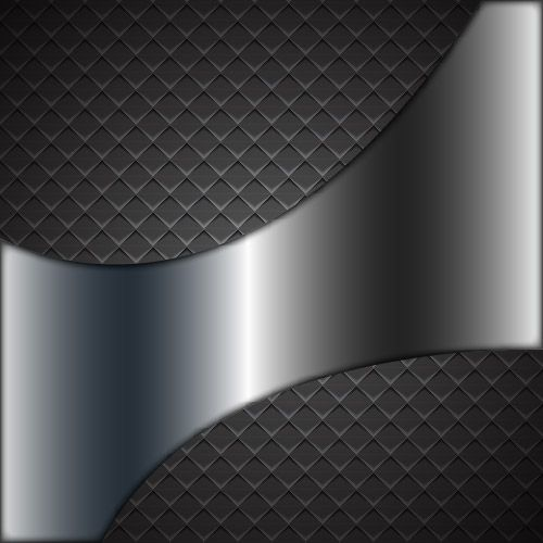 Abstract Metallic Checker Background with Shade