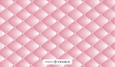 Realistischer rosafarbener Polsterungs-Leder-Hintergrund