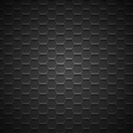 Dark Geometric Metal Pattern Background
