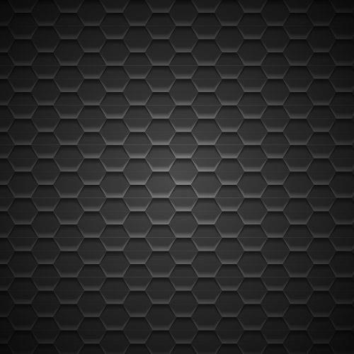 Dark Geometric Metal Pattern Background