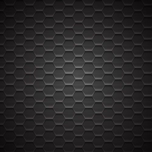 Fondo de patrón de metal geométrico oscuro
