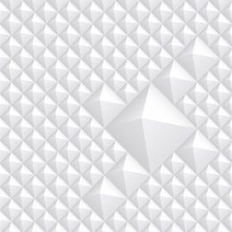 Fundo de plástico pequeno estilo pirâmide