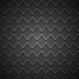 Padrão metálico de relevo geométrico