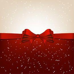 Fondo de Navidad dividido con cinta