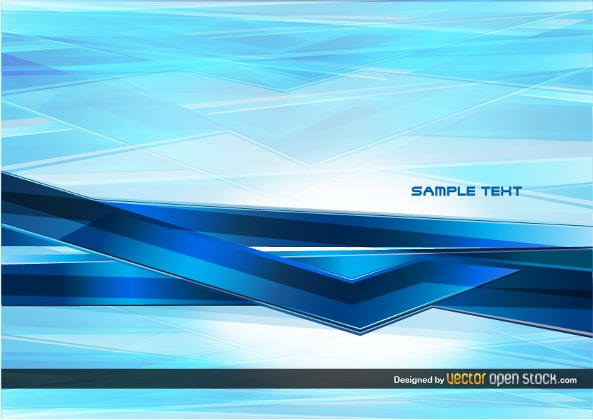 Abstract Technology blue Background
