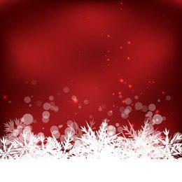 Abstrakter Winter-Schneeflocke-Hintergrund