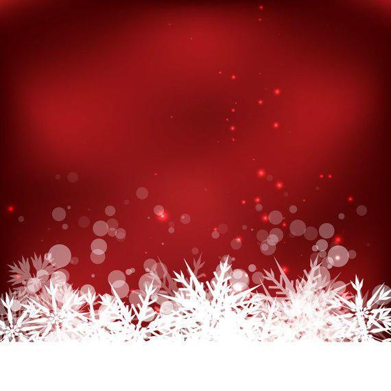 Resumo de fundo de floco de neve de inverno
