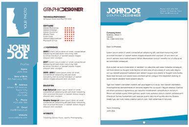 Resume-Vorlage für Creative 2-Seite
