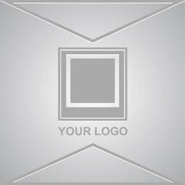 Plantilla de marca de agua para protección de derechos de autor de imágenes