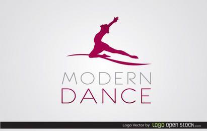 Modernes Tanzlogo