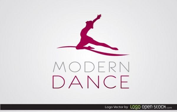 Logotipo de danza moderna